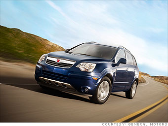 The smart family car - Saturn Vue XE