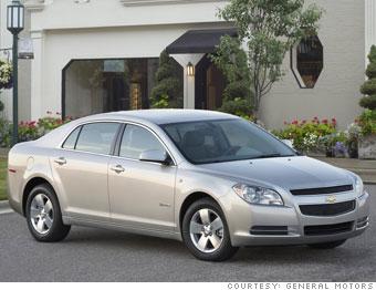 Winner: Chevrolet Malibu Hybrid