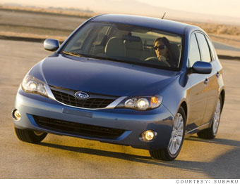 Small Car Subaru Impreza