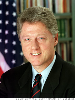 William Jefferson Clinton, <br> 42nd President of the United States
