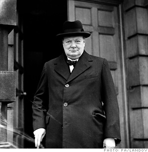 Winston Churchill, <br> Prime Minister of Great Britain