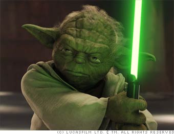 Yoda, Jedi Knight, Resident of Dagobah