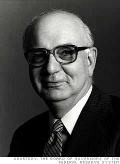 Paul Volcker, former Fed chairman