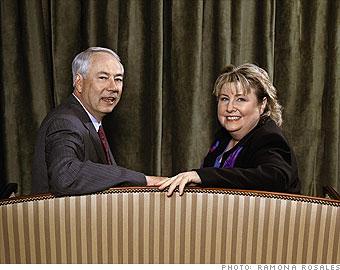 Alan Carmichael and Cynthia Moxley