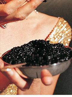 Steering connoisseurs to a new caviar