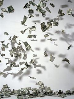 Scramble for cash