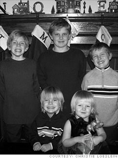 Christie Loeslein: Family of 7 copes