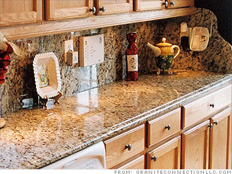 Home Improvement On The Cheap Stone Countertops 2