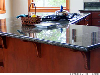 The look for less: kitchen and bath bargains - Rock solid (1 ...