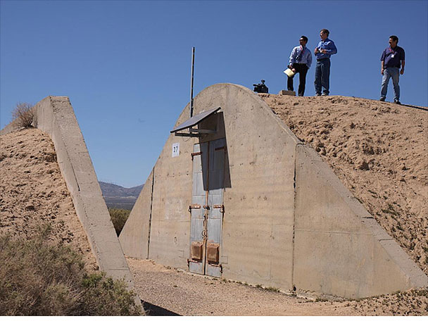 Testing bunker