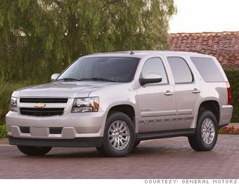 Full Size Suv Chevrolet Tahoe Hybrid