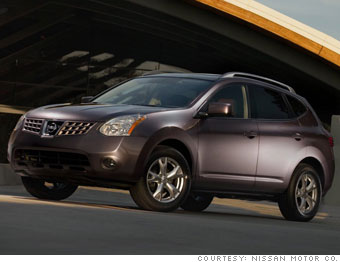 14 Green Machines Midsize Suv Nissan Rogue 9