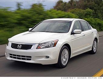 Family Sedan: Honda Accord