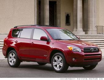 Consumer Reports 10 Best Cars Small Suv Toyota Rav4 9