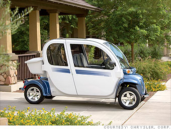 Electric Cars Get Charge From Stimulus Gem Car 3