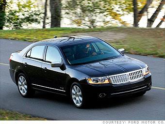 Upscale Sedan Lincoln Mkz