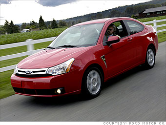 Small car: Ford Focus