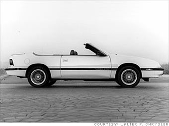 1989 Chrysler Le Baron Convertible
