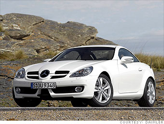Compact Luxury Sport: Mercedes-Benz SLK-class