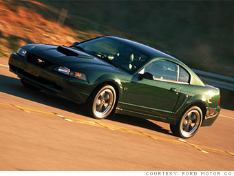 cash for clunkers is it for you 2001 ford mustang bullitt gt 1. Black Bedroom Furniture Sets. Home Design Ideas