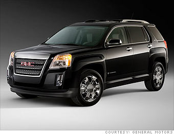 The Gmc Terrain Shown Here Is A New Small Crossover Suv May Delve Deeper Into More Car Like Vehicles If Concept To Journalists And Select