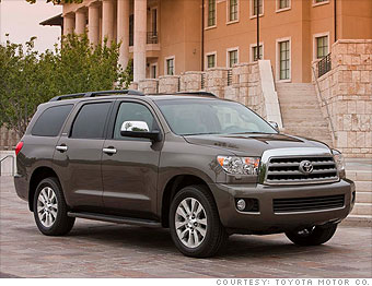 Toyota Large Suv >> Consumer Reports Most Dependable Cars Large Suv Toyota Sequoia