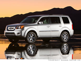 16 'Best Resale Value' cars - Full-size SUV: Honda Pilot (10) - CNNMoney.com