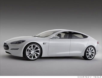 Cars That Start With S >> 6 Hot Electric Car Start Ups Tesla Motors 1 Cnnmoney Com