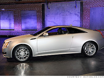 Best Of The L A Auto Show Cadillac Cts Coupe 4