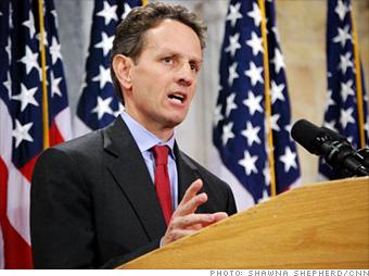 Geithner gives few details, tanks the market