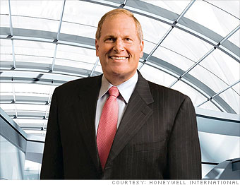 9. David Cote, CEO of Honeywell International