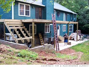 A deck twice as big, half the price