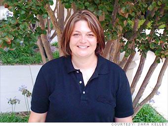 Sara Kelley: Got a job