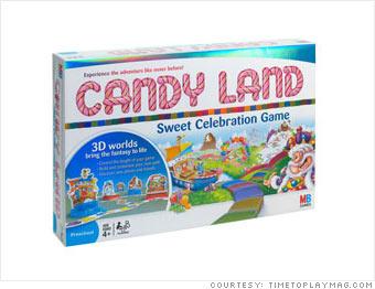 Candy Land Sweet Celebration Game