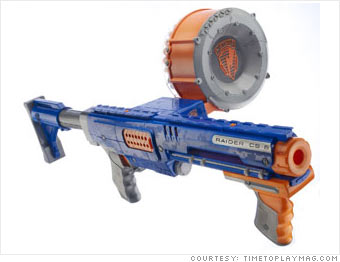 Nerf N-Strike Raider Rapid Fire CS 35 Blaster