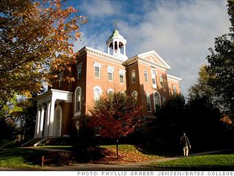 10 (tie). Bates College*