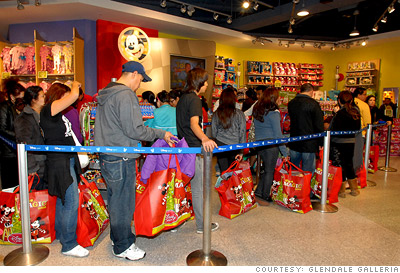 Disney's world of shopping