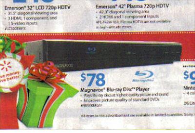 Walmart: Magnavox Blu-ray Disc Player