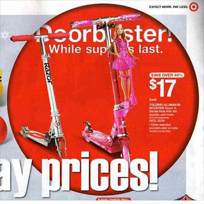Target: Razor Folding Aluminum Folding Scooter