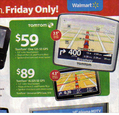 Walmart: TomTom One 125 Portable GPS