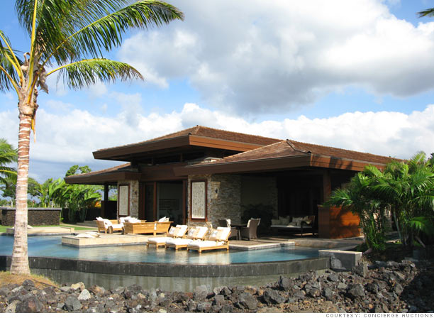 It's a blue Hawaii