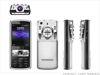 Wireless Logic Bolt projector phone