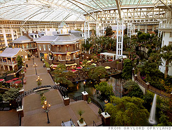 Opryland's tropical escape