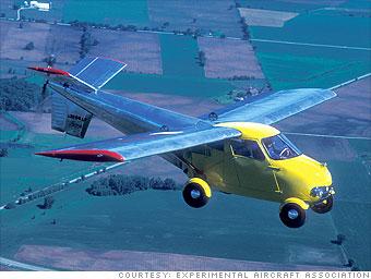 The pioneering Aerocar