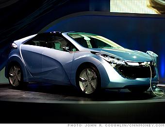 Hyundai Blue-Will plug-in concept