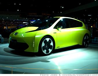 Toyota hybrid concept