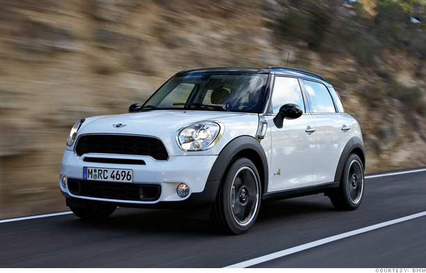 mini cooper suv unveiled - super-sized (1) - cnnmoney