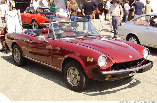 10 dirt cheap collectible cars - 1979-81 fiat spider 2000 (9