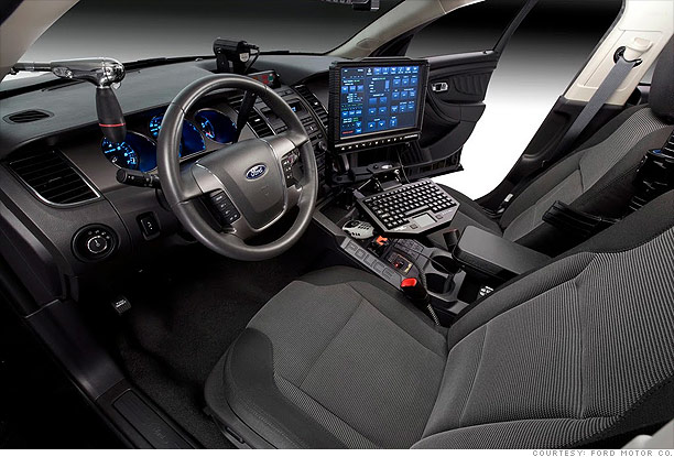 Ford Interceptor: Inside tech