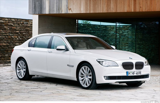 Cruising with class- BMW 7-series